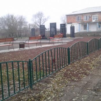 «Благоустройство места памяти участникам ВОВ в п. Прихолмье Минусинского района»